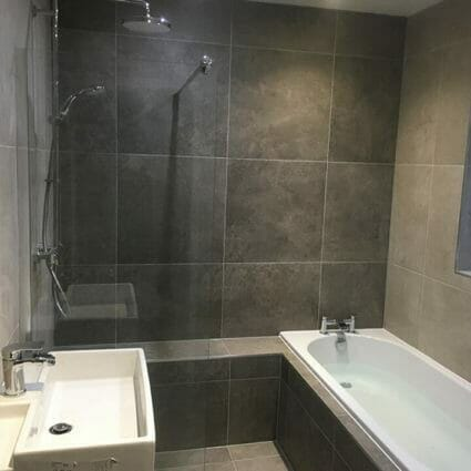 Bathroom Design & Installation incl. Slate Tiles